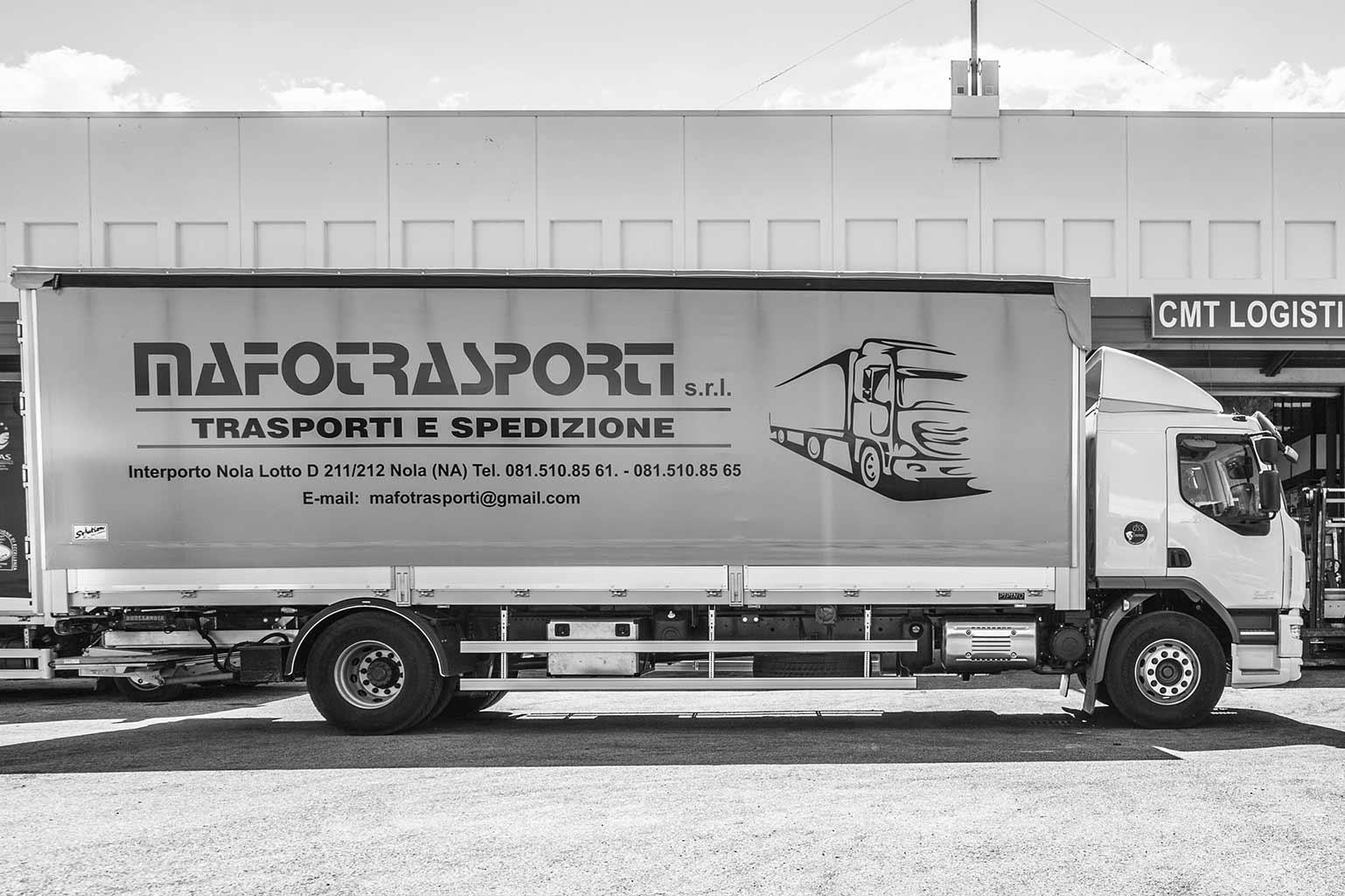 Mafo Trasporti - Servizi offerti